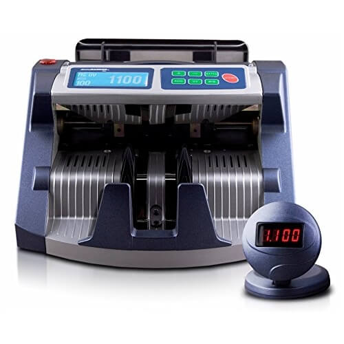 1-AccuBANKER AB 1100 PLUS UV/MG contadora de billetes
