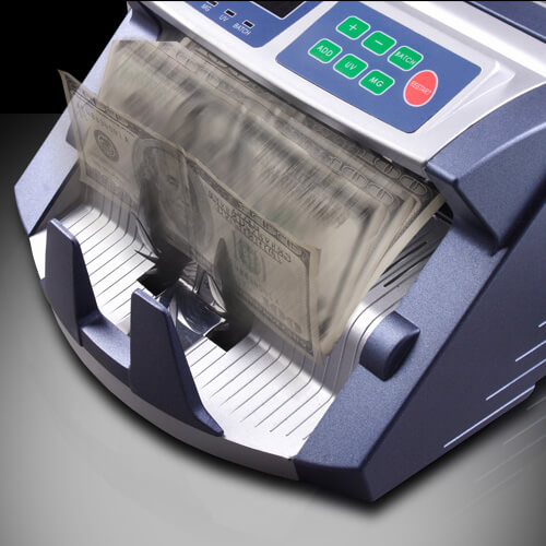 3-AccuBANKER AB 1100 PLUS UV/MG contadora de billetes