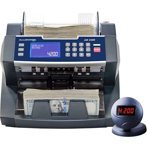 1-AccuBANKER AB 4200 UV/MG contadora de billetes