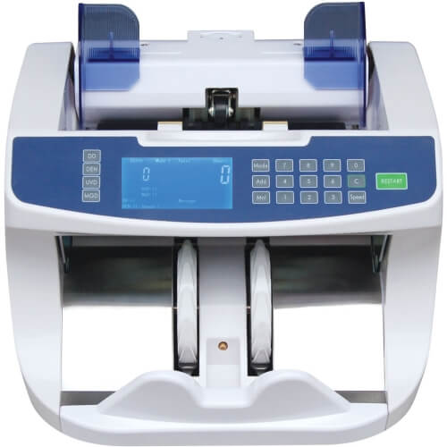 1-Cashtech 2900 UV/MG contadora de billetes