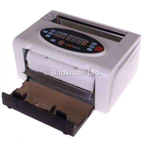 2-Cashtech 340 A UV  contadora de billetes