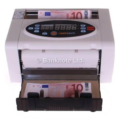 3-Cashtech 340 A UV  contadora de billetes