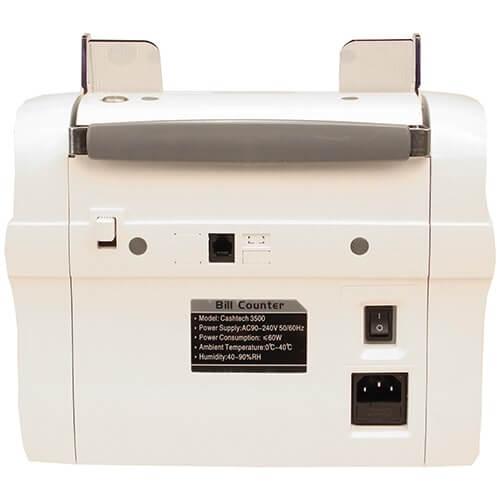 3-Cashtech 3500 UV/MG contadora de billetes