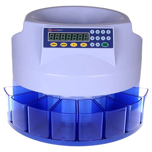 1-Cashtech 360 DKK dispositivo de conteo de monedas
