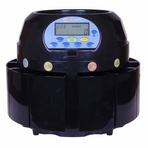 1-Cashtech 420 EURO dispositivo de conteo de monedas