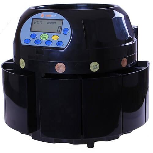 2-Cashtech 420 EURO dispositivo de conteo de monedas
