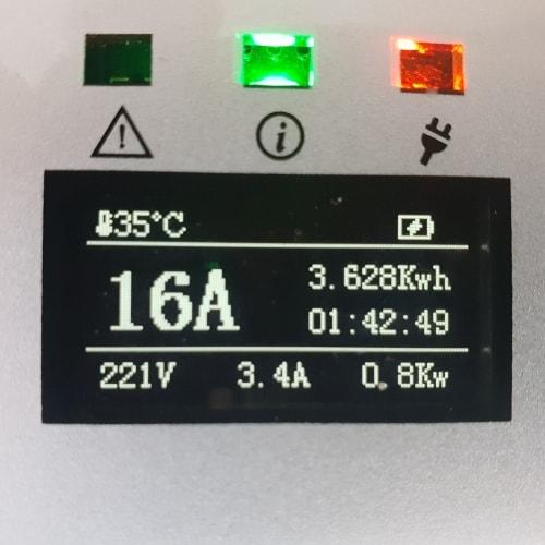 3-EV EVSE Type2 (max. 16A) Cable de carga para vehículo eléctrico