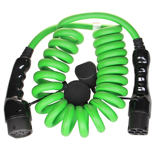 2-EV Type2 -> Type2 spiral (3x32A) Cable de carga para vehículo eléctrico