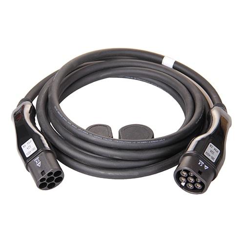 1-EV Type2 -> Type2 (32A) Cable de carga para vehículo eléctrico