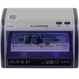 AccuBANKER LED420 controlador de billetes