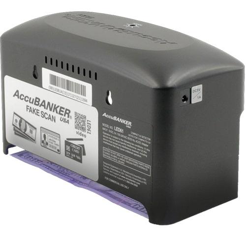 3-AccuBANKER LED61 controlador de billetes